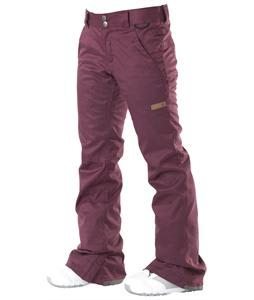 DC Contour Snowboard Pants Dark Purple