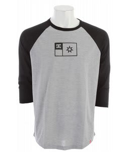 DC Core Trainer Raglan Shirt Heather Grey/Black