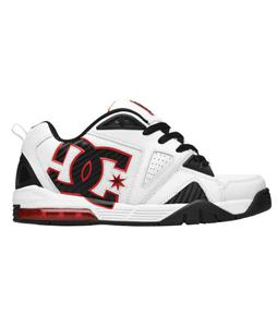 DC Coretex Skate Shoes White/Black/Red