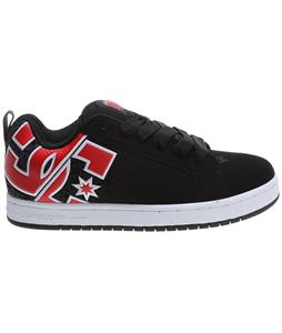 DC Court Graffik SE TP Shoes Black/Athletic Red/White
