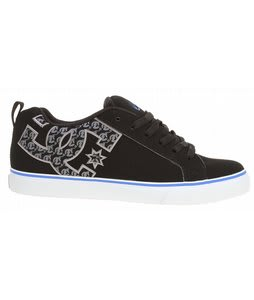 DC Court Vulc NC Skate Shoes Black/Battleship/Athletic Red