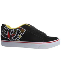 DC Court Vulc Se Skate Shoes Black/Graffiti Print