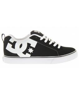 DC Court Vulc Skate Shoes Black/White