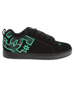 DC Court Graffik SE Shoes Black/Emerald/Black