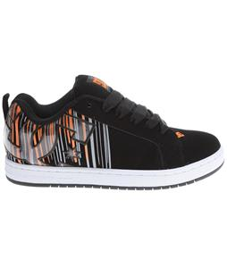DC Court Graffik Se Skate Shoes Classic Orange