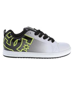 DC Court Graffik SE Shoes White/Black/Soft Lime