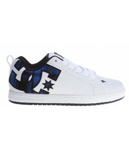 DC Court Graffik SE Skate Shoes White/Nautical Blue