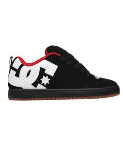 DC Court Graffik Skate Shoes Black/White/Gum