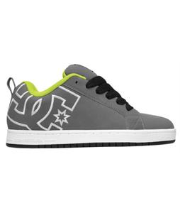 DC Court Graffik Skate Shoes Battleship/Lagoon