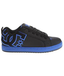DC Court Graffik Tx Skate Shoes Black/Nautical Blue