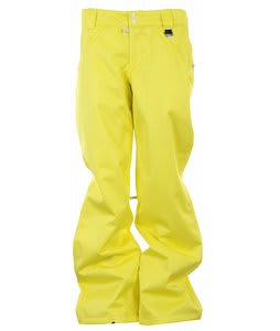 DC Craft P Snowboard Pants Blz Yellow