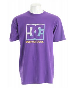 DC Cross Star T-Shirt Heliotrope
