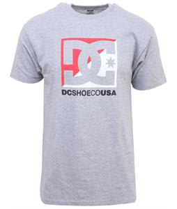 DC Cross Stars T-Shirt Heather Grey
