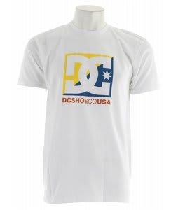 DC Cross Star T-Shirt White