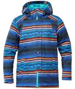 DC Data K Snowboard Jacket Peruvian Stripes
