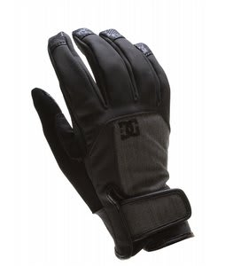 DC Davos Gloves Black