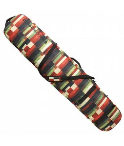 DC Daylugger Boardbag Red Multi Plaid