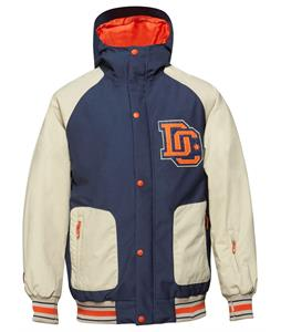 DC DCLA Snowboard Jacket Dress Blue
