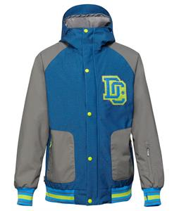 DC DCLA Snowboard Jacket Electric Blue Lemonade