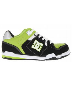 DC Decibel Skate Shoes Black/Softlime