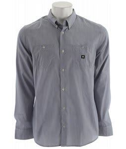 DC Derby L/S Shirt Blue Indigo