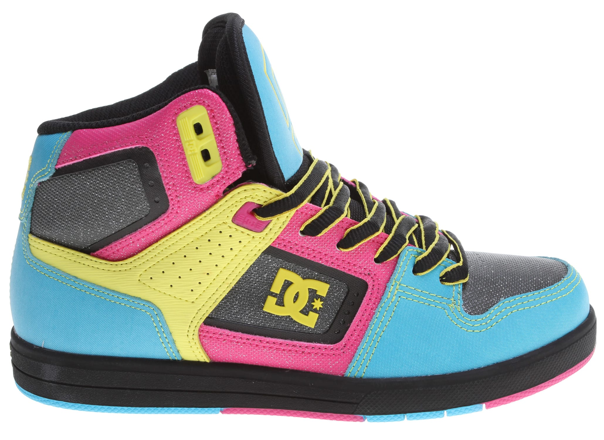 Womens DC Rebound Hi Skate Shoe - DC Shoes
