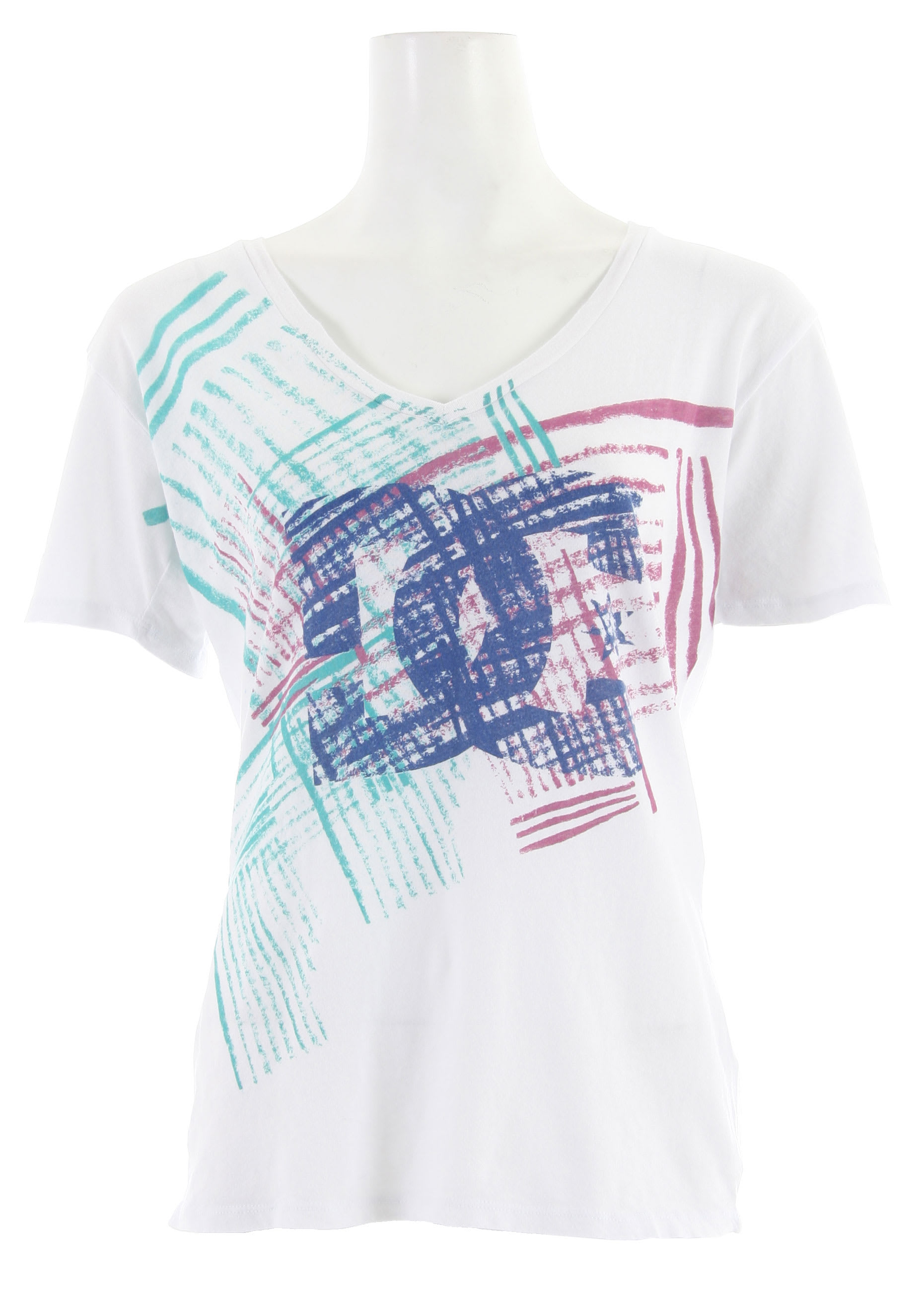 Shop for DC Diamond Eyes T-Shirt Bright White - Women's
