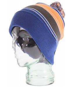 DC Dodge Beanie Hazard/Olympian Blue Stripe