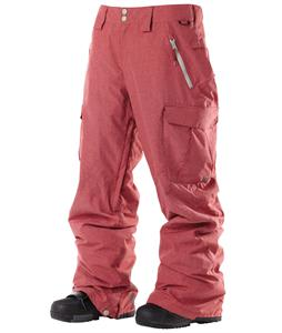 DC Donon Snowboard Pants Biking Red