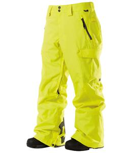 DC Donon Snowboard Pants Blazing Yellow