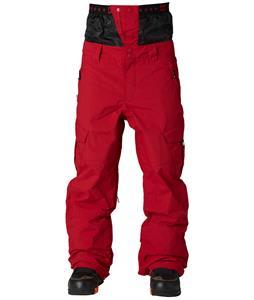 DC Donon Snowboard Pants Rio Red