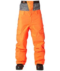 DC Donon Snowboard Pants Shocking Orange