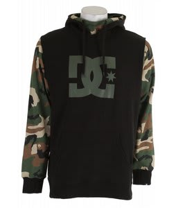 DC Dryden Hoodie Black/Camo