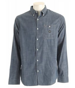 DC Duster L/S Shirt Indigo