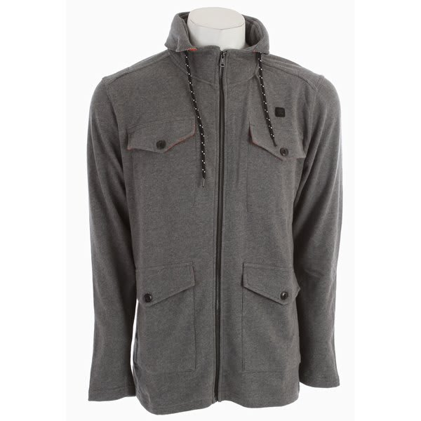 DC Engine Hooded Fleece Jacket