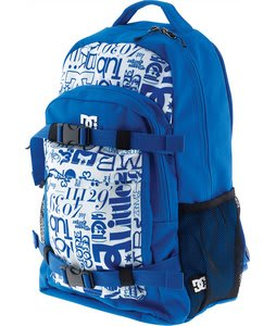 DC Enroll W Backpack Print Lapis/Shadow 