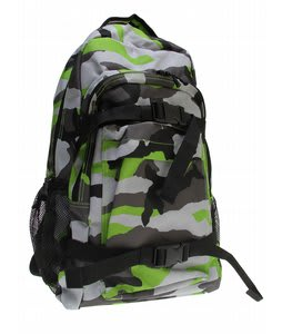 DC Enroll Backpack Lime Green/Camo