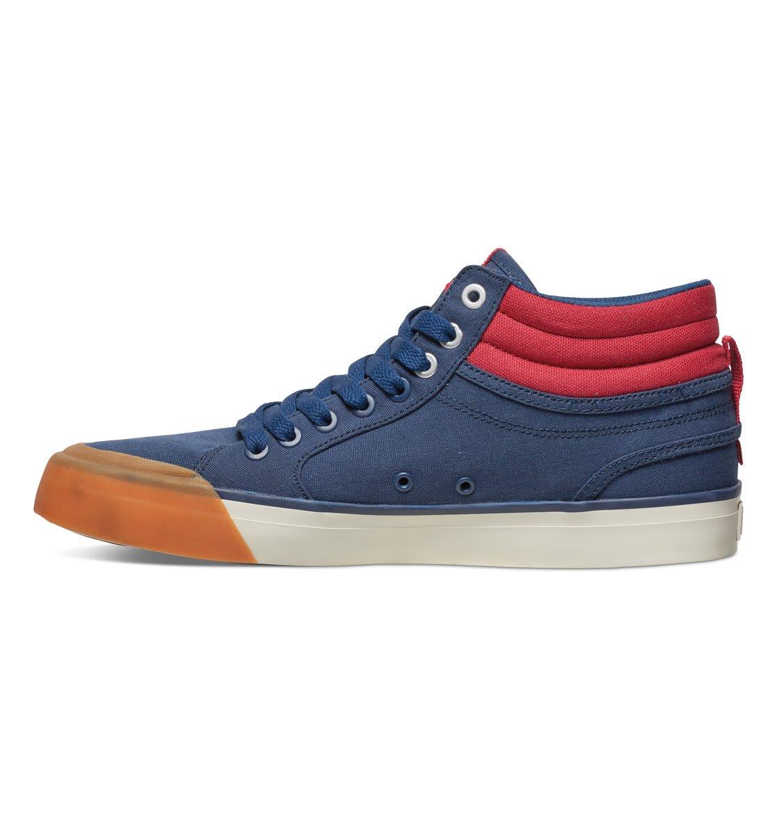 Flexfit Dc Skate Shoes Cap Black Red