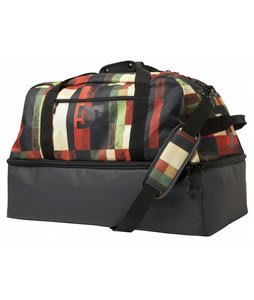 DC Expresser Duffle Bag Red Multi Plaid