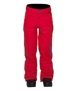 DC Factor Snowboard Pants Athletic Red