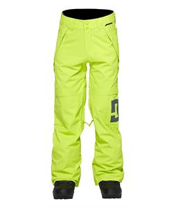 DC Factor Snowboard Pants Lime