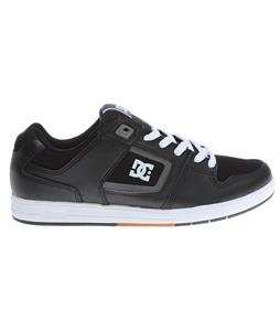 DC Factory Lite Skate Shoes Black/White