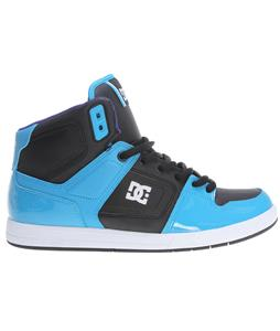 DC Factory Lite Hi Skate Shoes Turquoise/Black