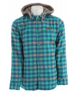 DC Fernwood Riding Shirt Columbia Green