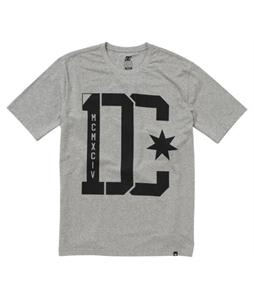 DC First Division T-Shirt Heather Grey