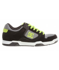 DC Flawless Skate Shoes Black/Battleship/Soft Lime