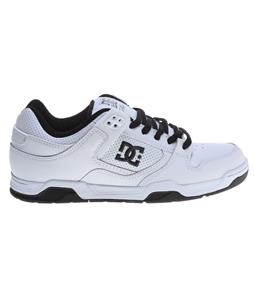 DC Flawless Skate Shoes White/White/Black
