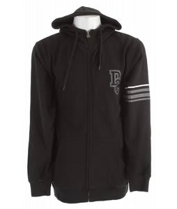 DC Focus Zip Hoodie Black