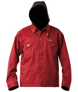 DC Forte Snowboard Jacket Biking Red