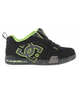 DC Frenzy Skate Shoes Black/Lime